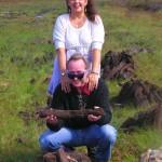 Keva and Ed in Ireland